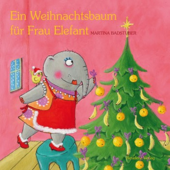 ein weihnachtsbaum f r frau elefant. Black Bedroom Furniture Sets. Home Design Ideas